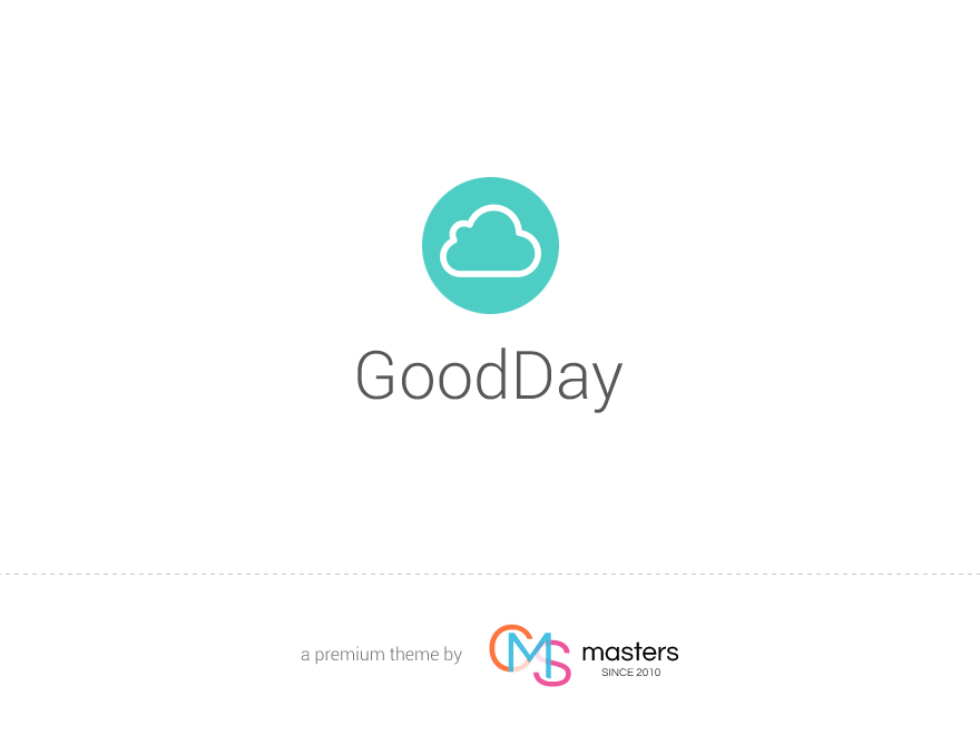GoodDay - Multi Purpose Responsive WordPress Theme