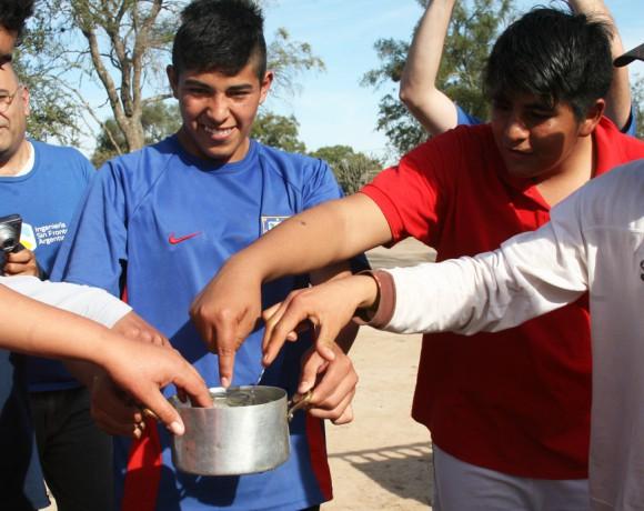 Hot Water in Farm School, Santiago del Estero