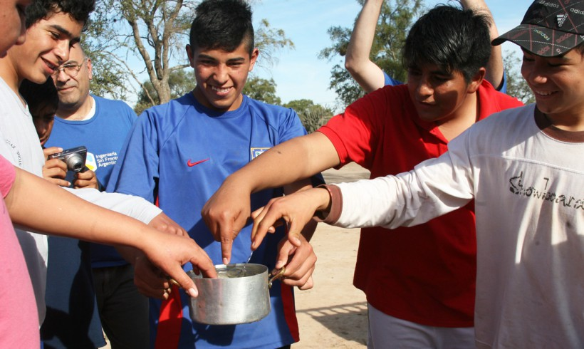 Hot Water in Farm School, Santiago del Estero
