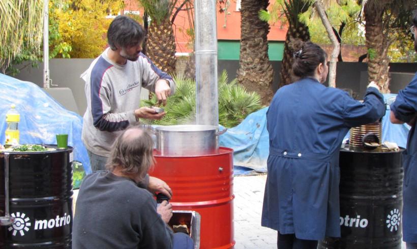 Taller de Cocinas a leña eficientes