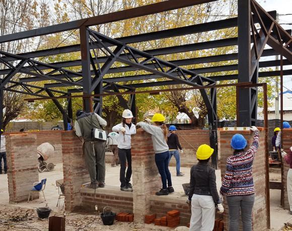 Ampliación de jardín de infantes en Quilmes
