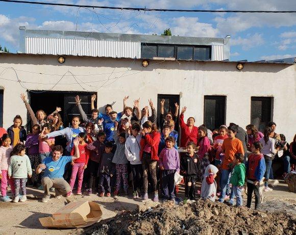 Ampliación de comedor comunitario en La Plata