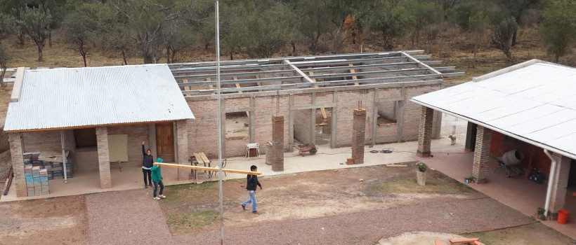 Ampliación de escuela en Santiago del Estero