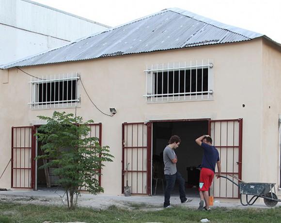 Construcción de salón comunitario en Barrio Ramón Carrillo
