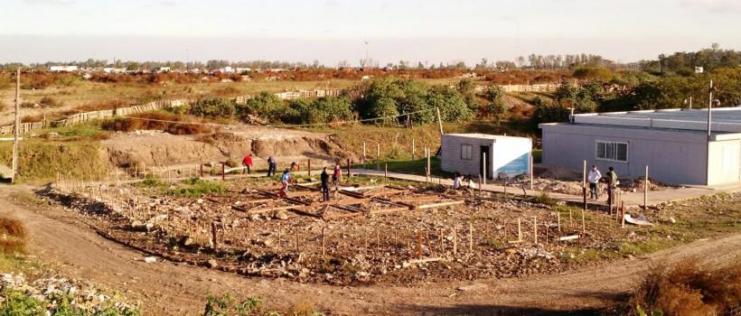 Construcción de jardín maternal en barrio La Cárcova
