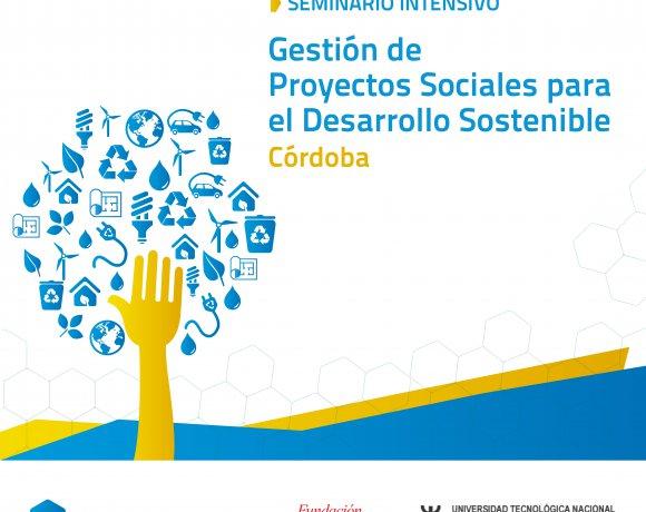 GESTIÓN DE PROYECTOS SOCIALES PARA EL DESARROLLO SOSTENIBLE