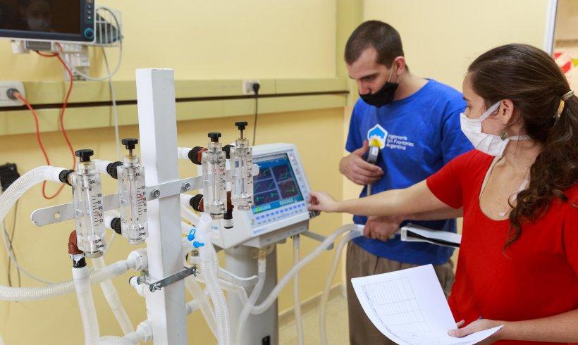 Ampliación de la capacidad de respiradores | COVID-19