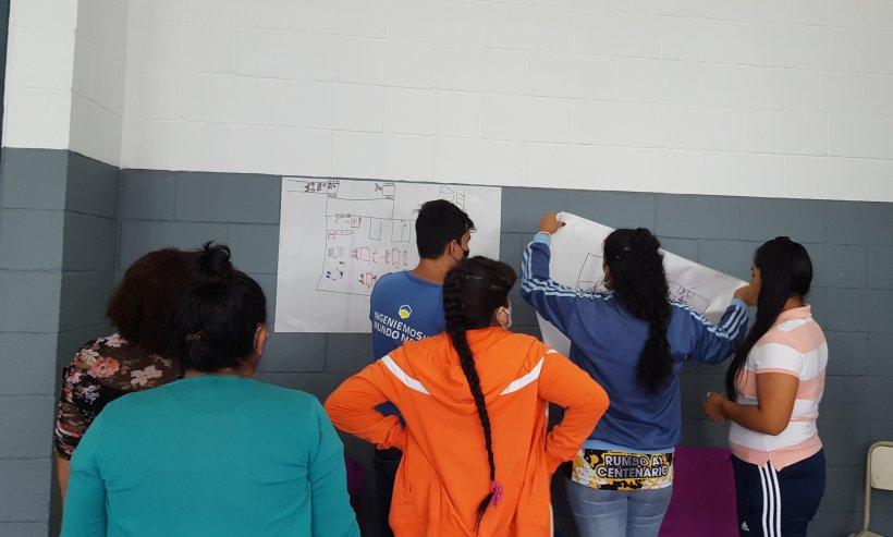 Ampliación de espacio de visitas y recreación en el penal de San Martín