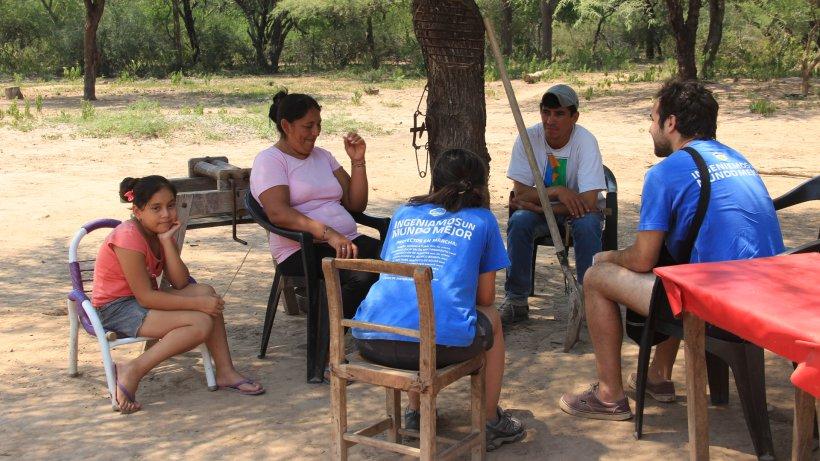 Relevamiento de la situación del agua y saneamiento en parajes rurales